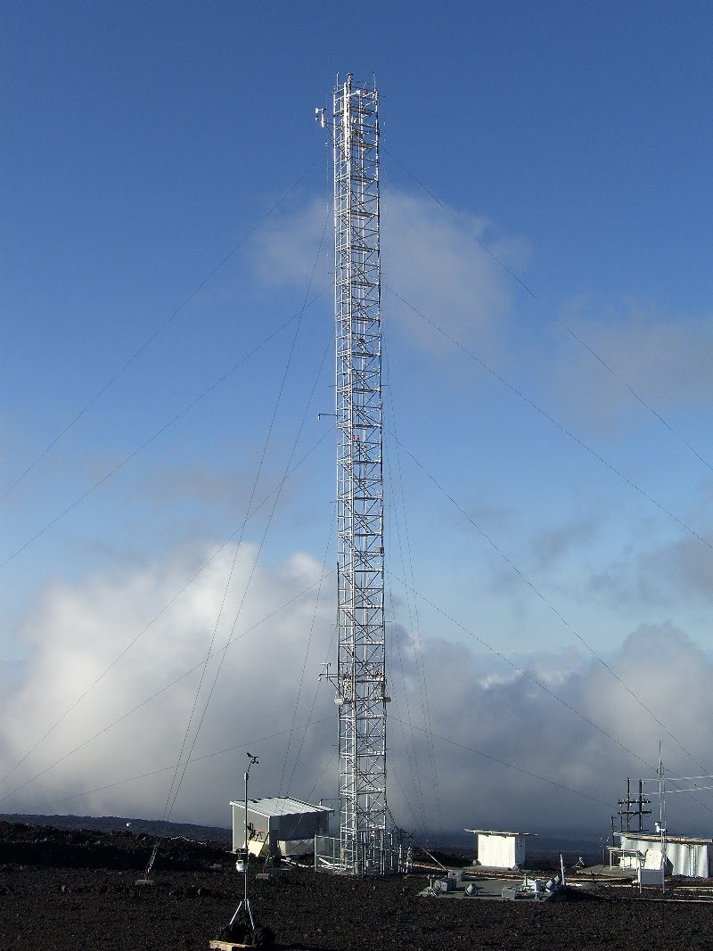 The sampling tower