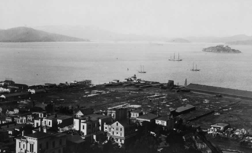 San Francisco at the beginning of the 20th century