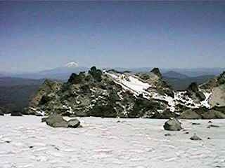 Photgraph taken from the top of Mt. Lassen