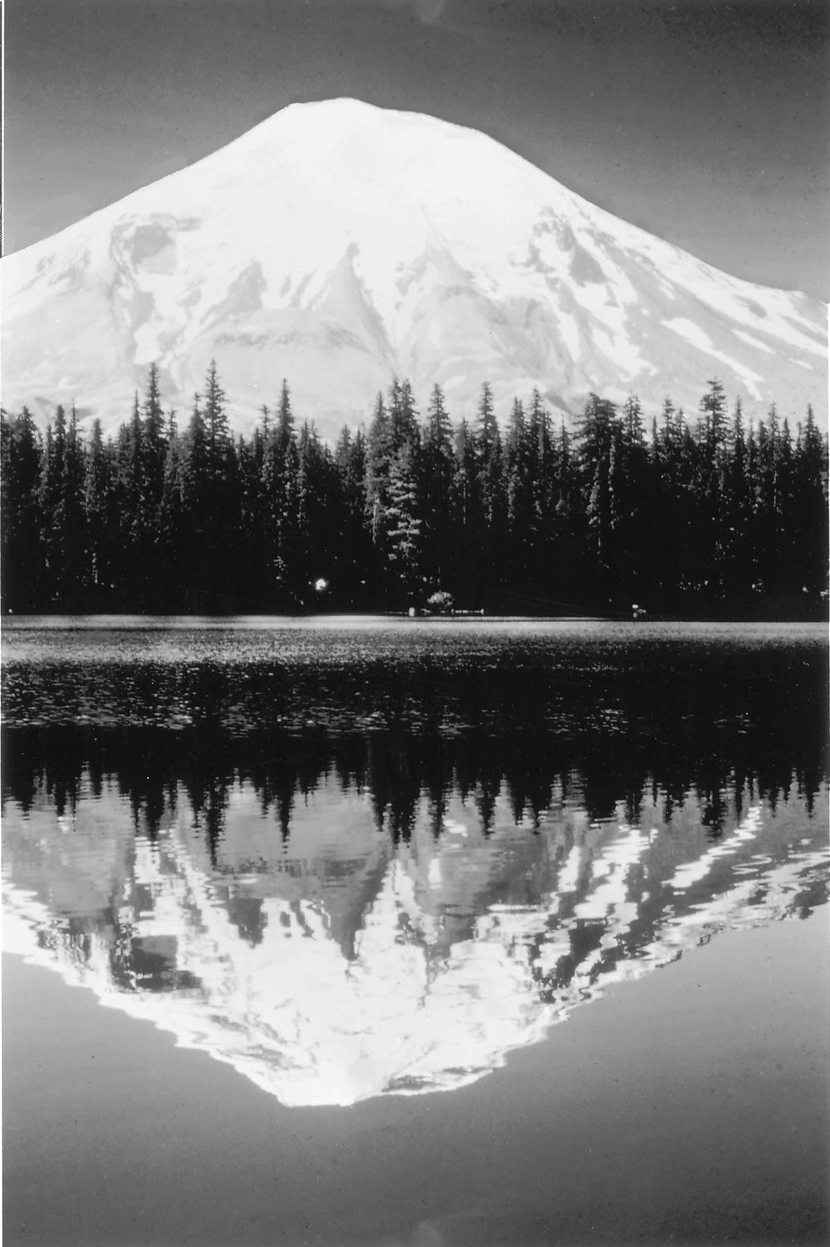Photograph of Mt. St. Helens and Spirit Lake