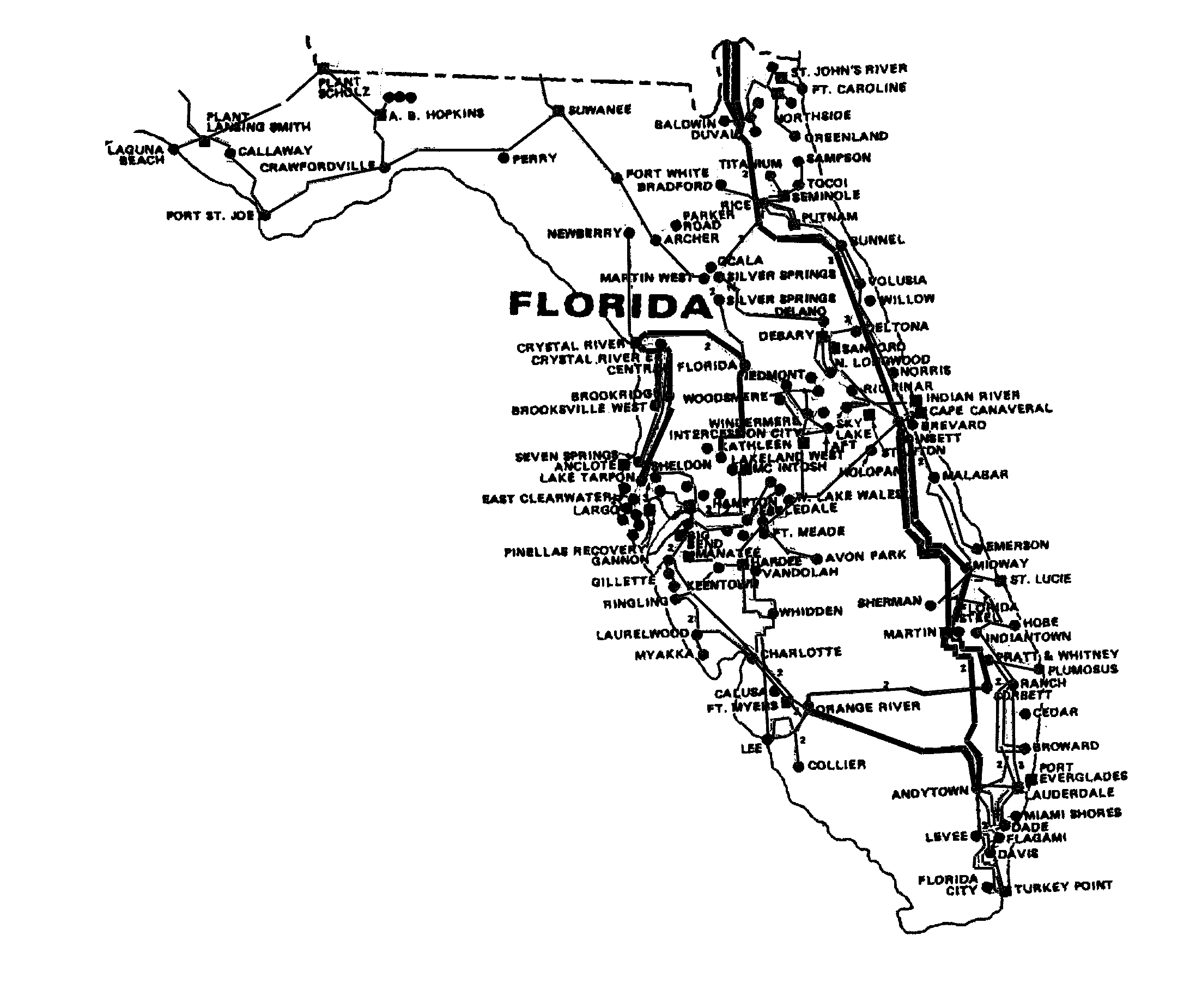 Florida energy grid