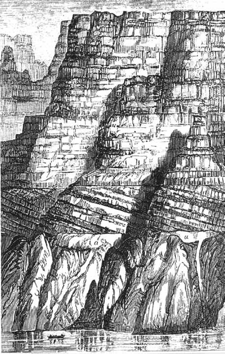 canyon drawing